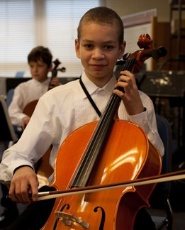 MYS Overture Strings Cello Player